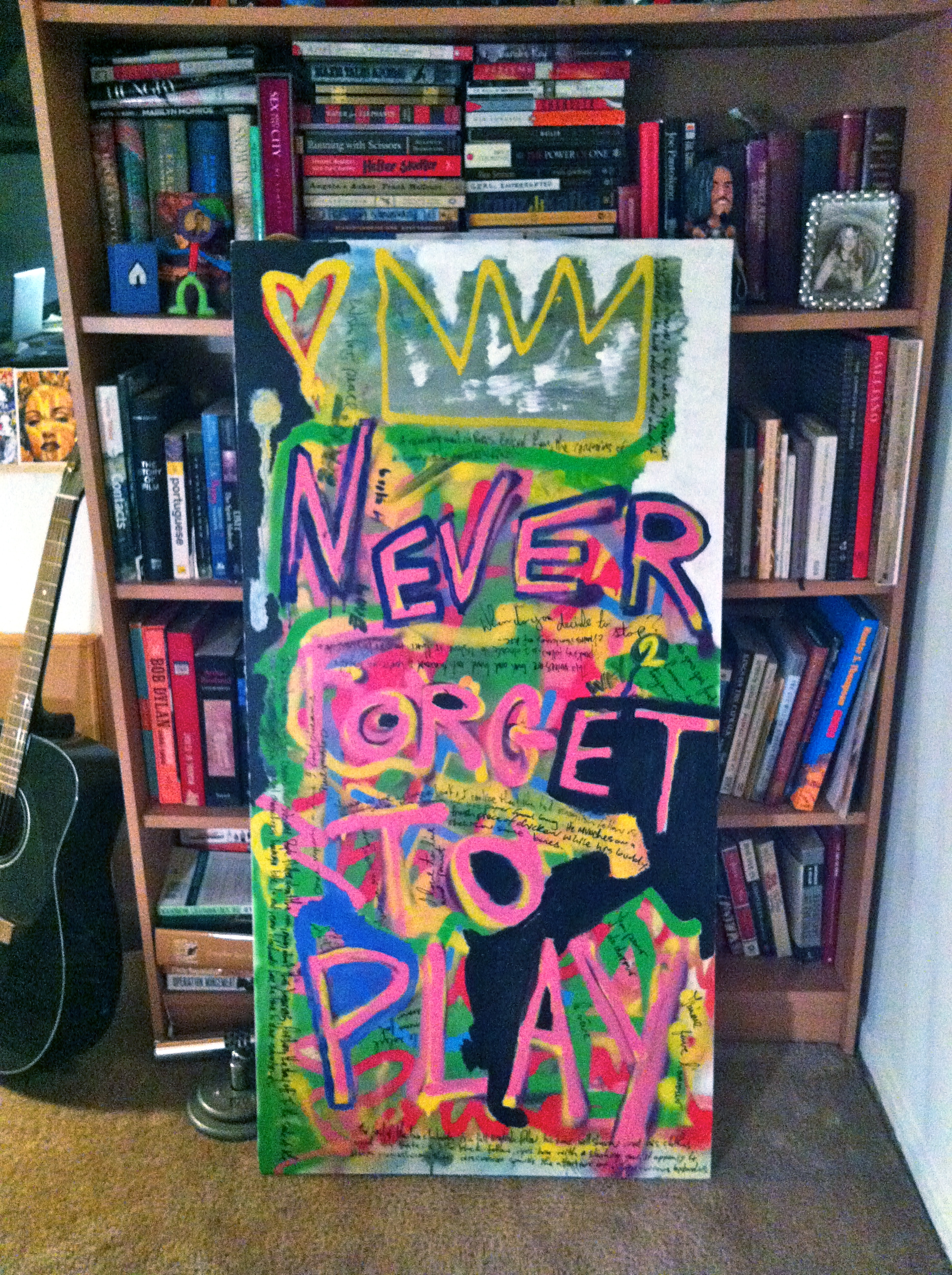 """Never Forget to Play"" by Matt Smiley"