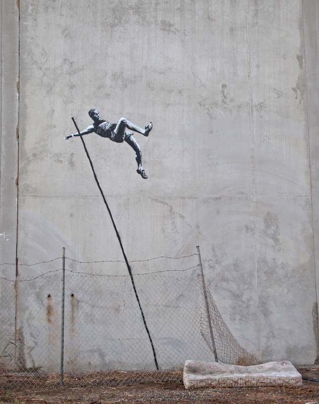 High Jump by Banksy