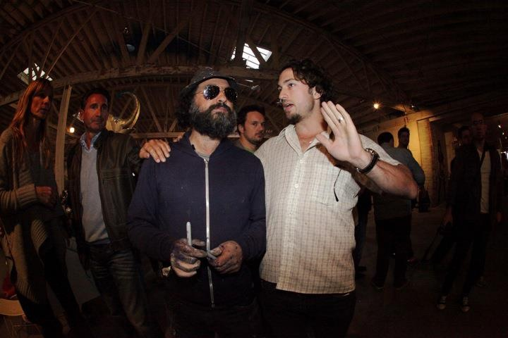 Mr. Brainwash and Matt Smiley