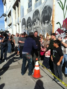 Mr. Brainwash Art Show 2011 Los Angeles