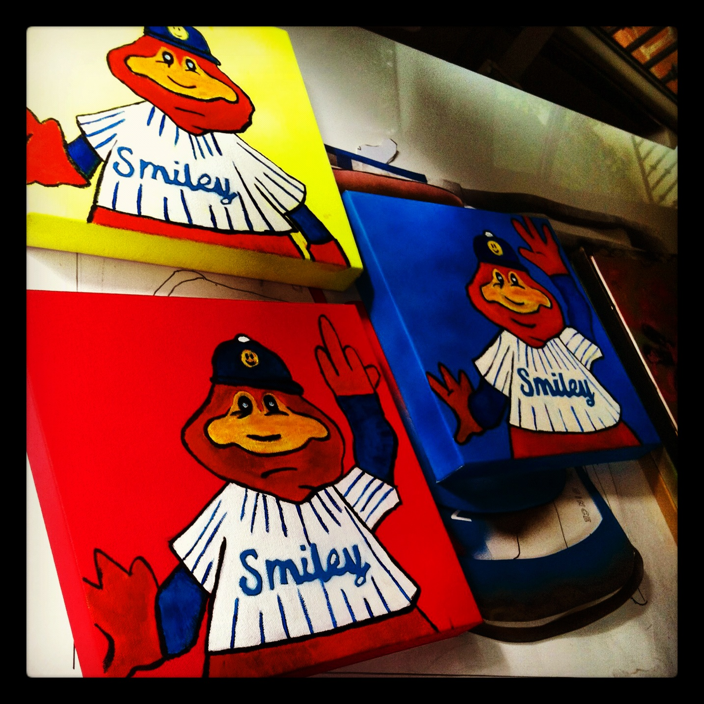 Expos Youppi series 1-3 by Matt Smiley