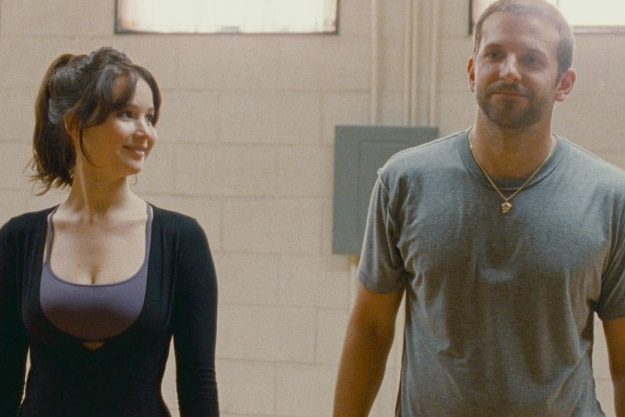 "David O. Russell's ""Silver Linings Playbook"" with Bradley Cooper and Jennifer Lawrence"