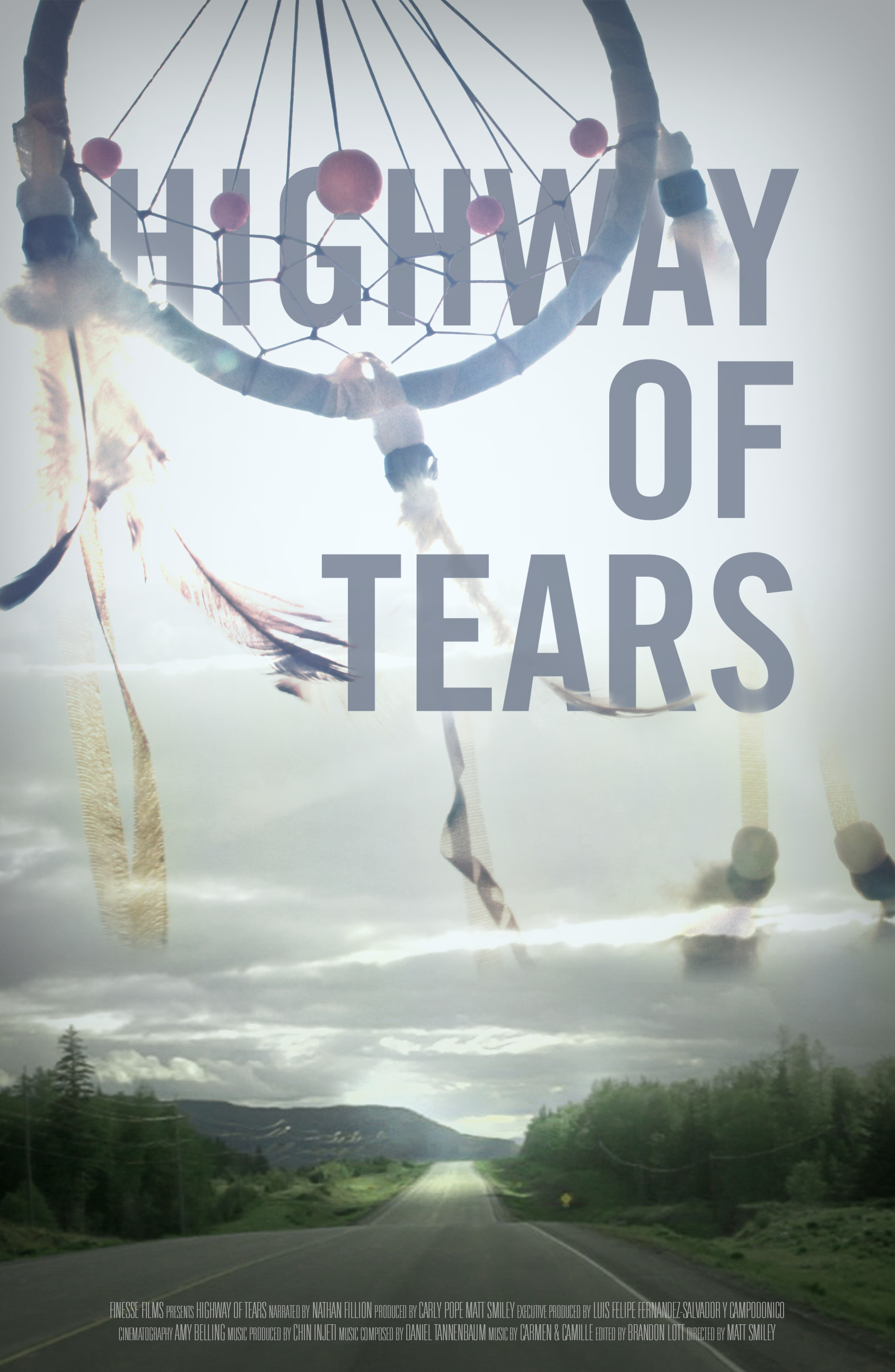 """Highway of Tears"" official poster"