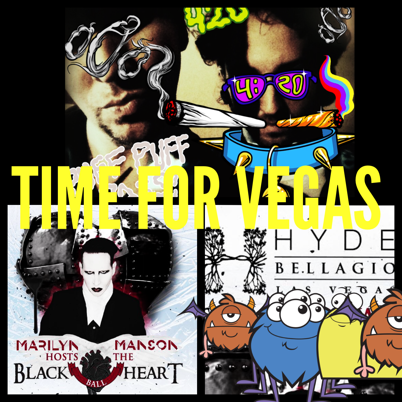 Marilyn Manon Hosts the Black Heart Party at HYDE Bellagio