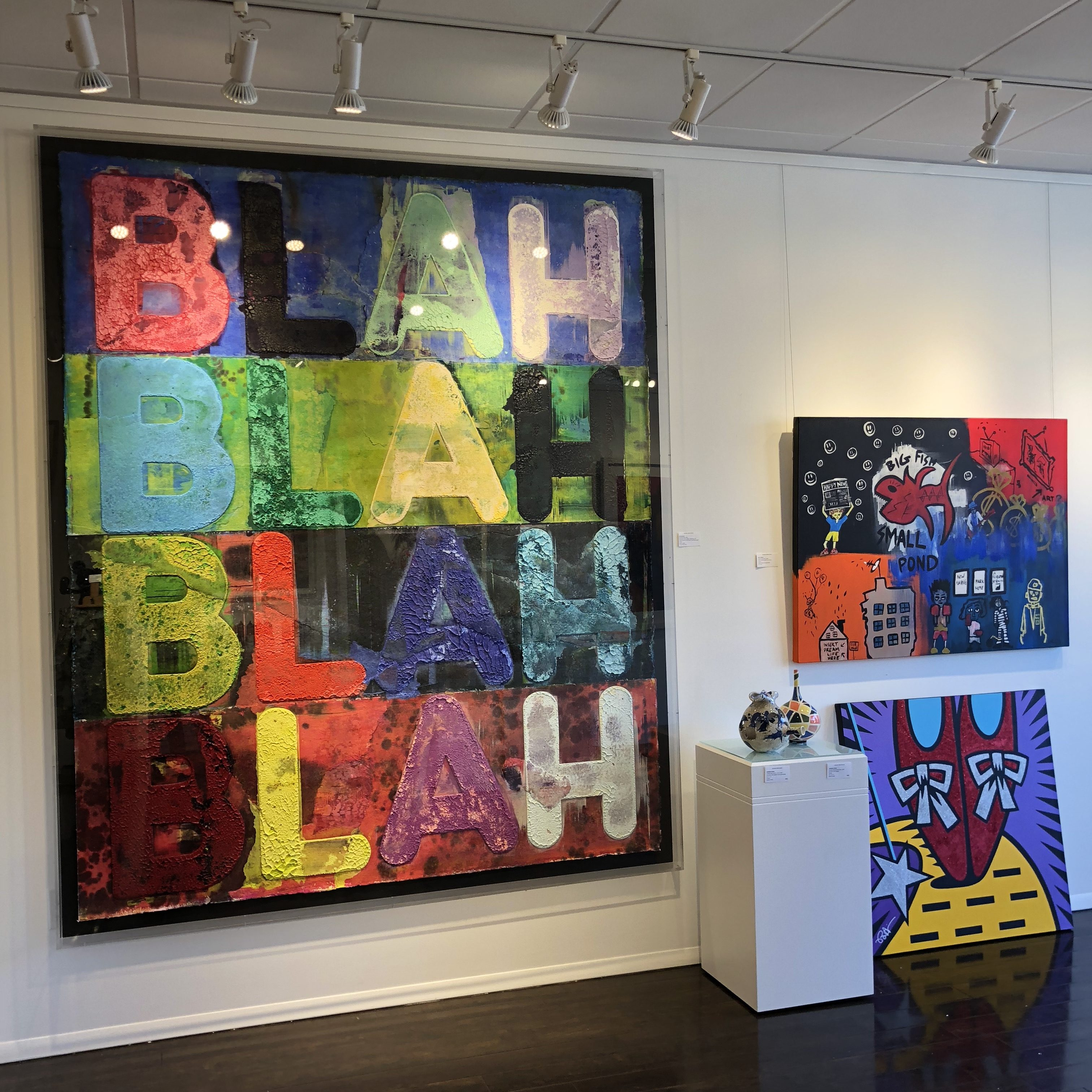 Mel Bochner and Matt Smiley at Denis Bloch Fine Art