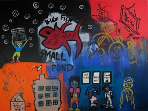 """Small Fish Big Pond"" by Matt Smiley"