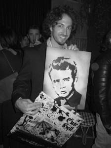 Matt Smiley photographed by Brad Elterman at Bar Marmont