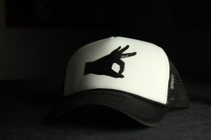Limited Edition Smiley Hat (Black)
